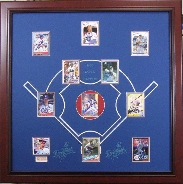 1988 World Series Champions - Authentic Signatures