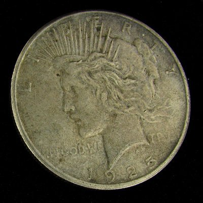 1925 Peace Dollar Coin - Investment