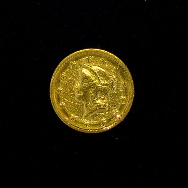 1851 $1 U.S Liberty Head Gold Coin - Investment