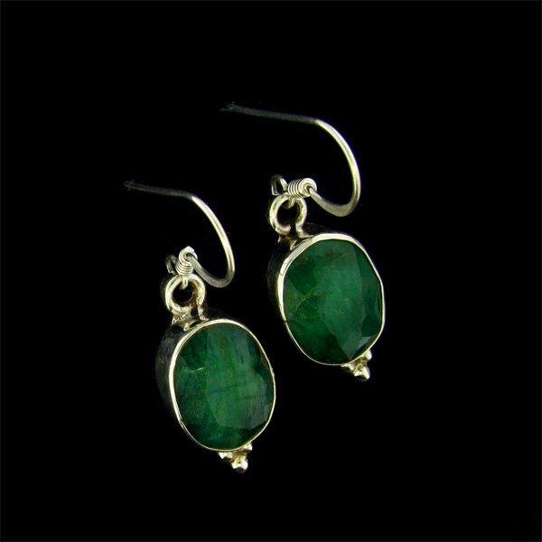 APP: $10.2k 9.09CT Ruby Sterling Silver Earrings