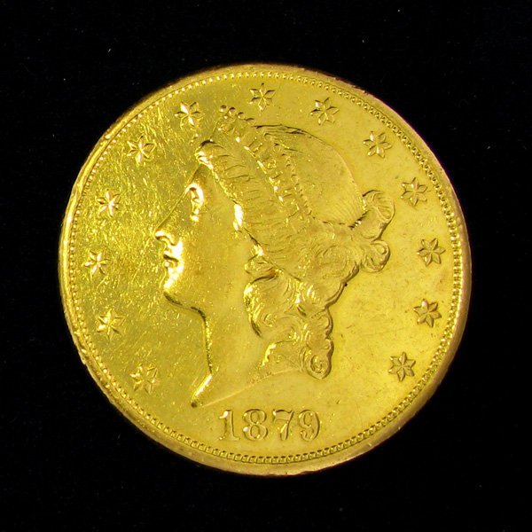 1879-S $20 U.S. Liberty Head Gold Coin - Investment