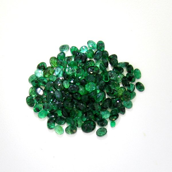 APP: $4.1k 13.00CT Oval Cut Emerald Parcel