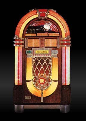 Wurlitzer 1015 One More Time - Vinyl Juke Box
