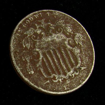 Shield Type Five Cent Coin - Investment