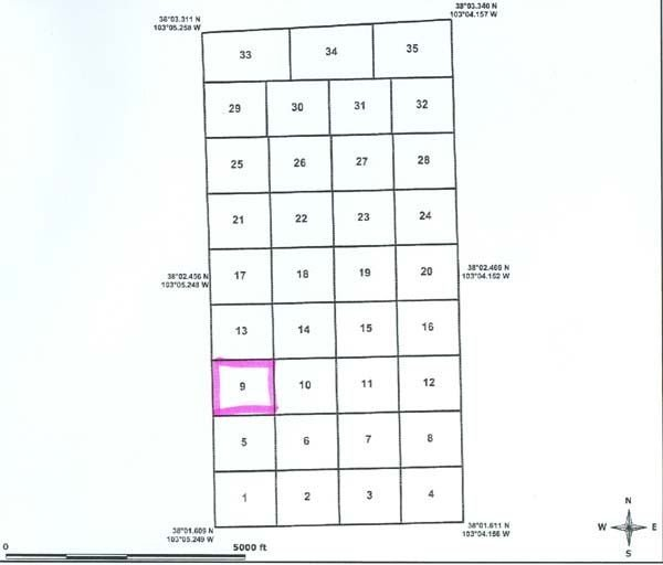 GOV: CO LAND, 35 AC. $19,751@$229/mo - BENT COUNTY! - 2