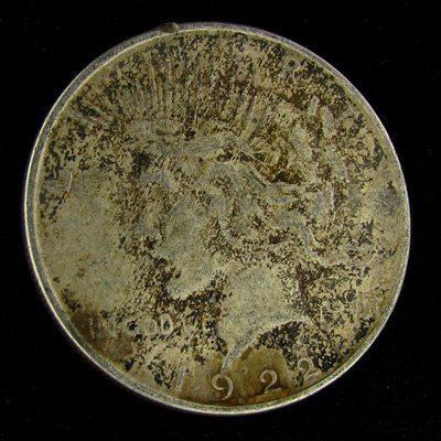 1922-D Peace Dollar Coin - Investment