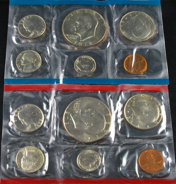 1978 U.S. Mint Set Coin - Investment