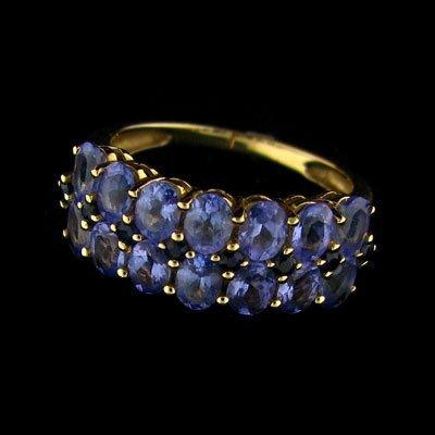 APP: 3.1k 14 kt. Gold, 2.21CT Tanzanite & Diamond Ring