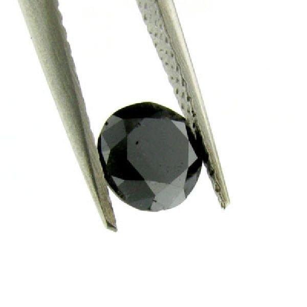 1.15CT Rare Black Diamond Gemstone
