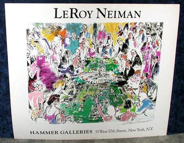 Hand Signed LeRoy Neiman Graphic