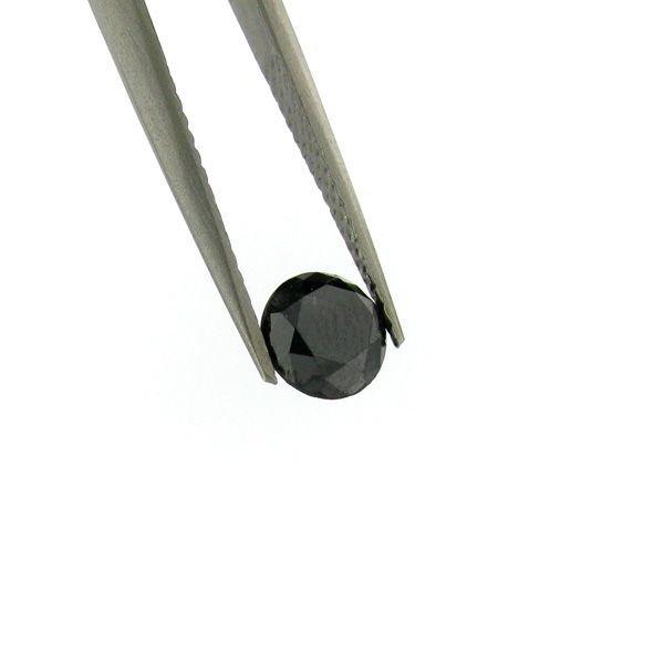 1.25CT Rare Black Diamond Gemstone