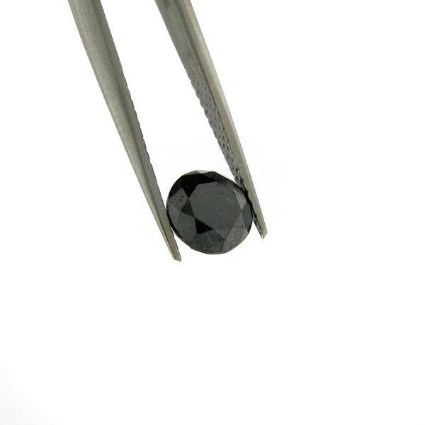 1.90CT Rare Black Diamond Gemstone