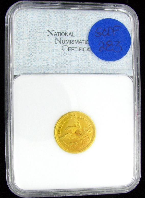 1: 1855-D $2.5 U.S. Liberty Head Gold Coin-Investment P