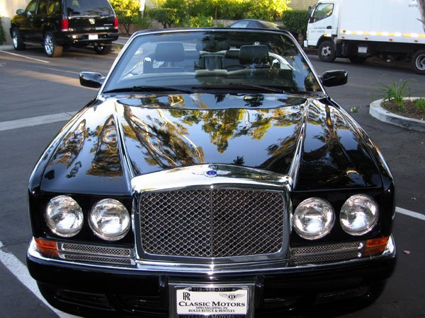 661: 2001 Bentley Azure Convertible,  Special T Package - 3