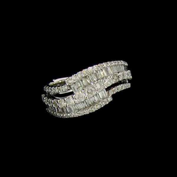 APP: 7.7k 14kt White Gold, 1.12CT Diamond Ring