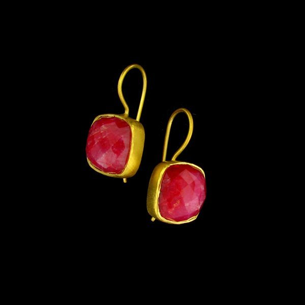 APP: 10.7k 24 kt. Gold Overlay, 15.50CT Ruby and Sterli