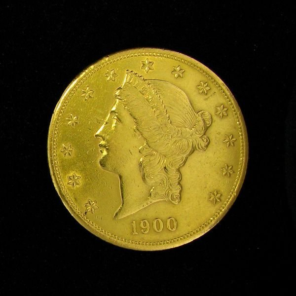 1900 $20 U.S. Liberty Head Gold Coin - Investment