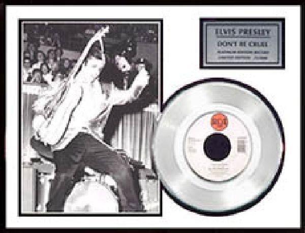 "ELVIS PRESLEY ""Don't be Cruel"" Platinum Ed. Record"