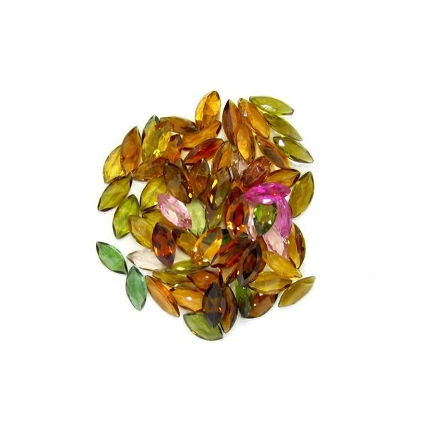 20.85CT Marquise Cut Mixed Tourmaline Parcel