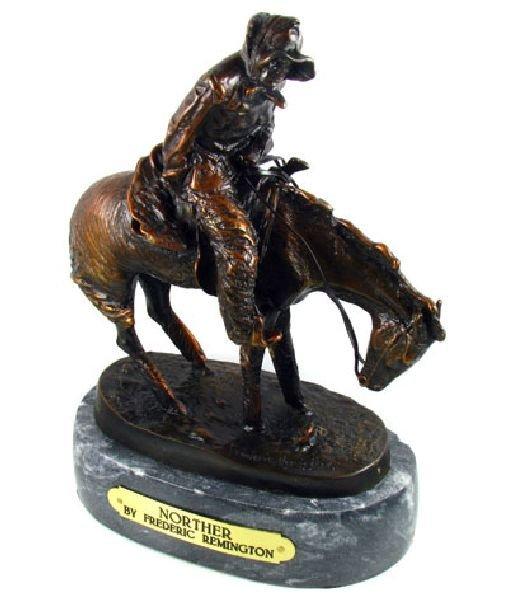 Frederic Remington Bronze Reissue - Norther