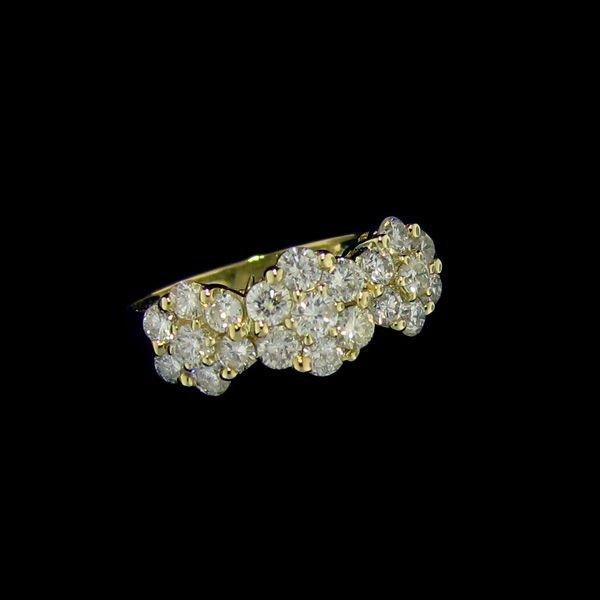 APP: 4.6k 14kt Gold, 1.09CT Diamond Ring