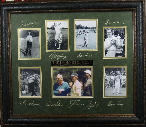 Legends of Golf - Plate Signatures