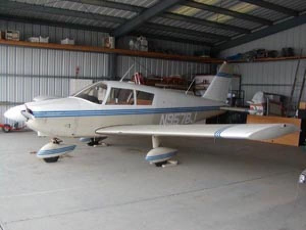 1967 Piper Cherokee PA 28-180 Single Engine Plane