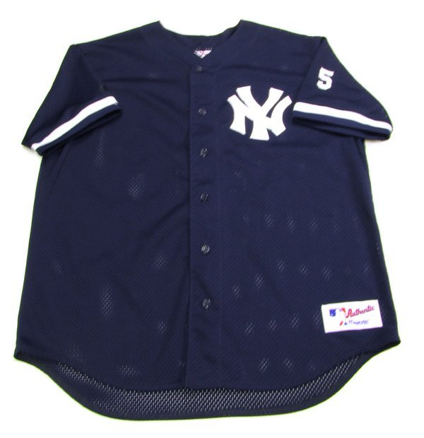 1998 Game Used Derek Jeter Jersey