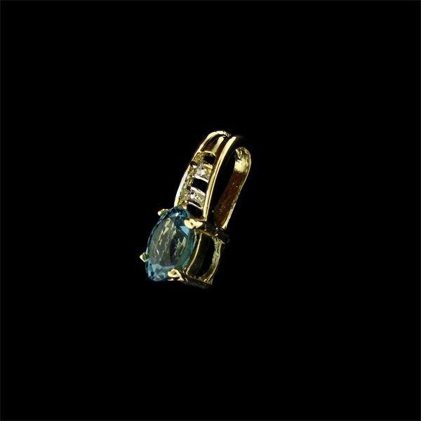 14 kt. Gold, Tourmaline Pendant