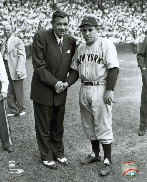 Babe Ruth & Yogi Berra Photograph