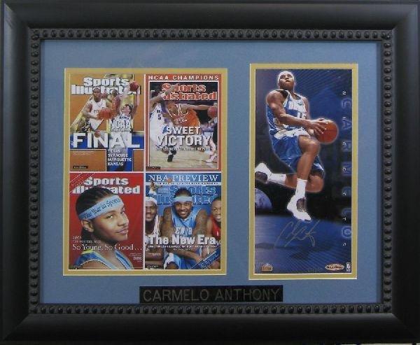 Carmelo Anthony - Authentic Signature
