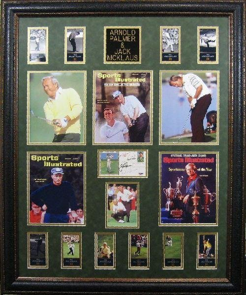 Arnold Palmer & Jack Nicklaus - Authentic Signatures