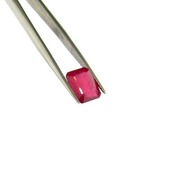 APP: 7.3k 3.86CT Emerald Cut Ruby Gemstone