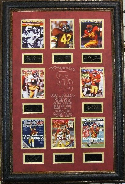 USC Legends - Plate Signatures