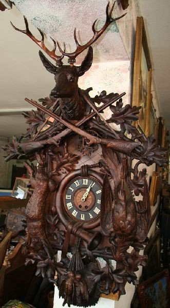 Black Forest Cukoo Clock-Museum Quality-51L x 31W