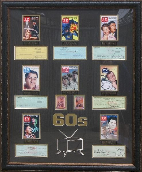 60's TV Stars - Authentic Signatures