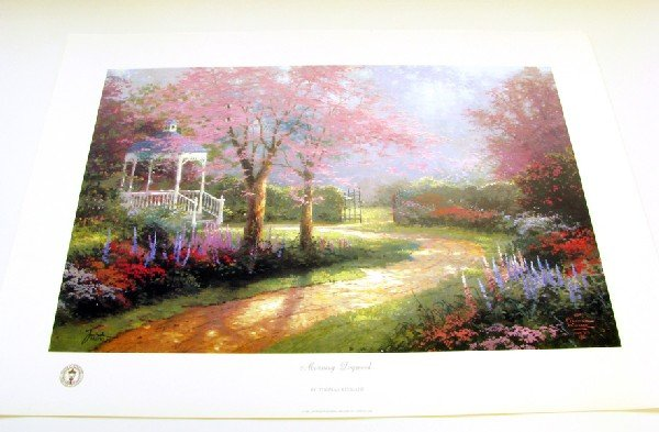 Thomas Kinkade Hand Signed and Certified Print