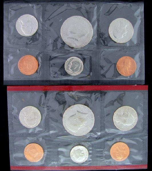 1984 U.S. Uncirculated Mint Set Coin - Investment
