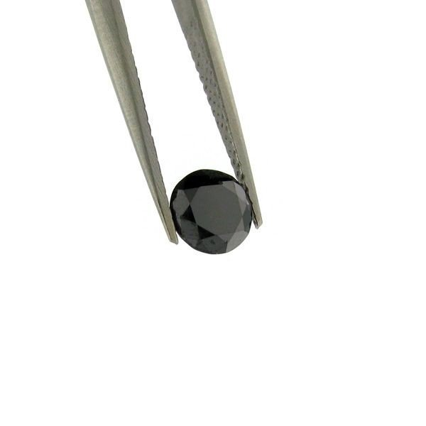 1.05CT Rare Black Diamond Gemstone