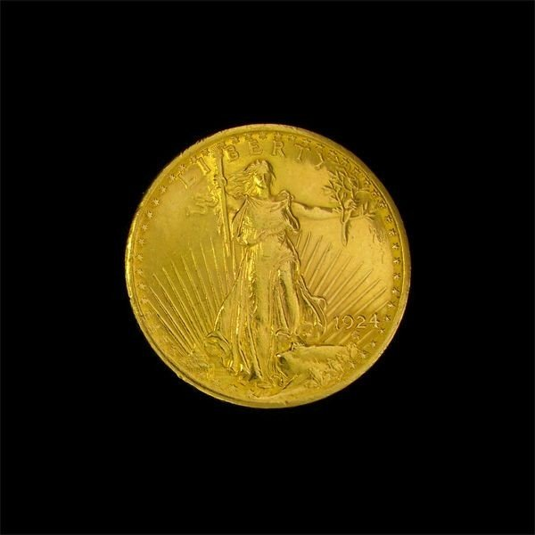 1924 U.S. $20 Saint-Gaudens Gold Coin - Investment