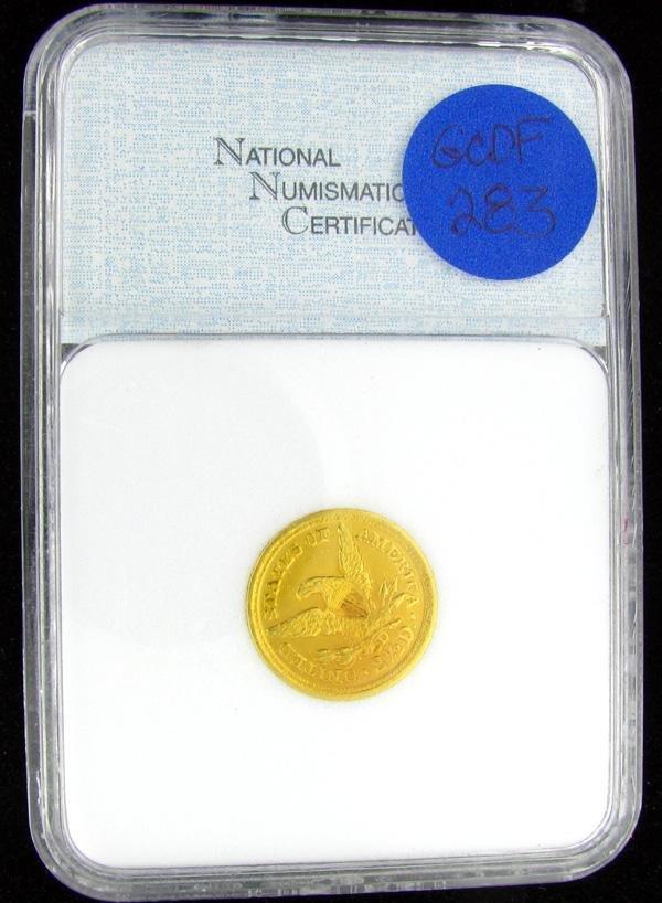 1855-D $2.5 U.S. Liberty Head Gold Coin
