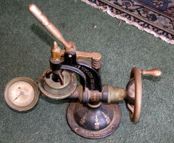Antique Mullen Tester