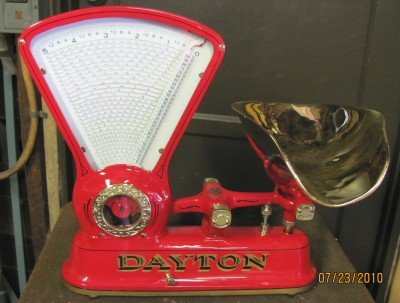 Antique Red Dayton Scale - Model 167