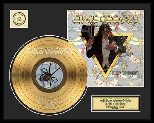 """ALICE COOPER """"Welcome to My Nightmare"""" Gold LP"""