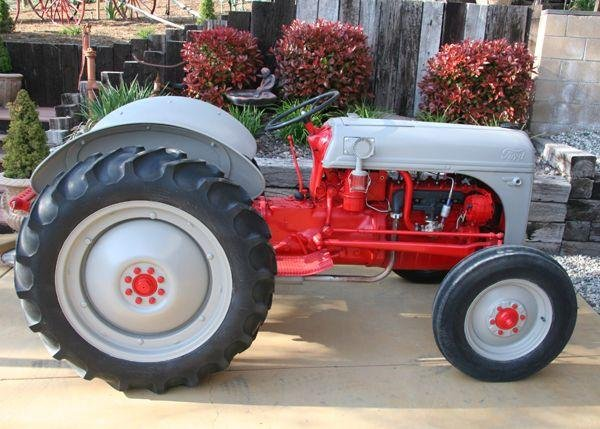 Rare 8 Ford Tractor Fully Restored Inside/Out