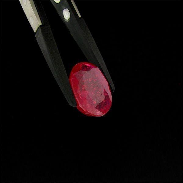 APP: 12.8k 21.34CT Oval Cut Ruby Gemstone