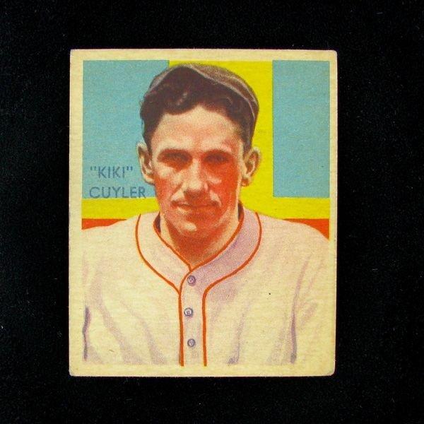 Kiki Cuyler #31 BP $45-$200 Green Dia. Stars Baseball C