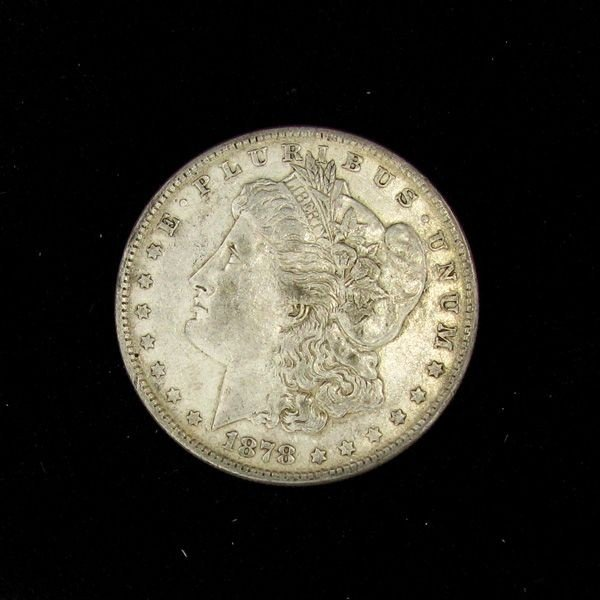 1878 8tf Morgan $1 XF+ Coin - Investment