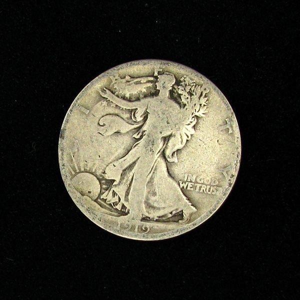 1919 D Walker 50c Coin - Investment