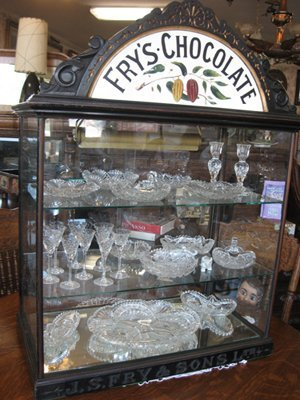 5A: J.S. Fry & Sons-Fry Chocolate Display-Gorgeous!
